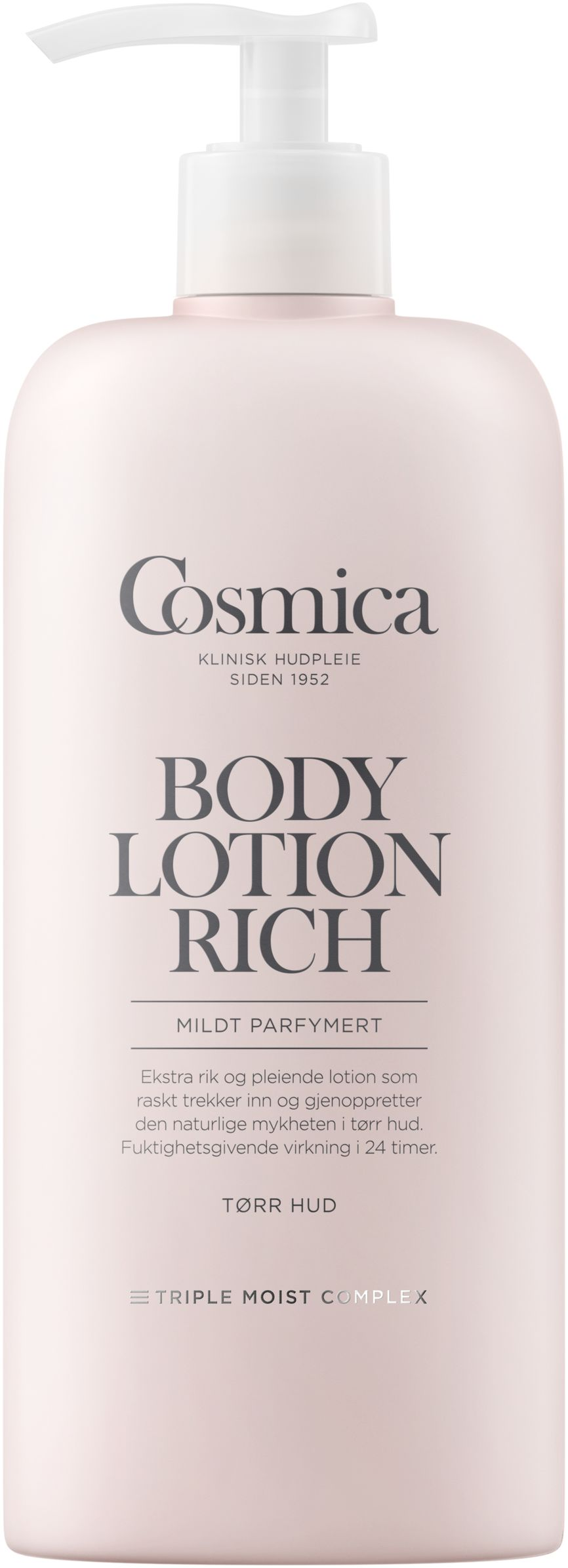 Cosmica Bodylotion Rich med parfyme (400 ml)