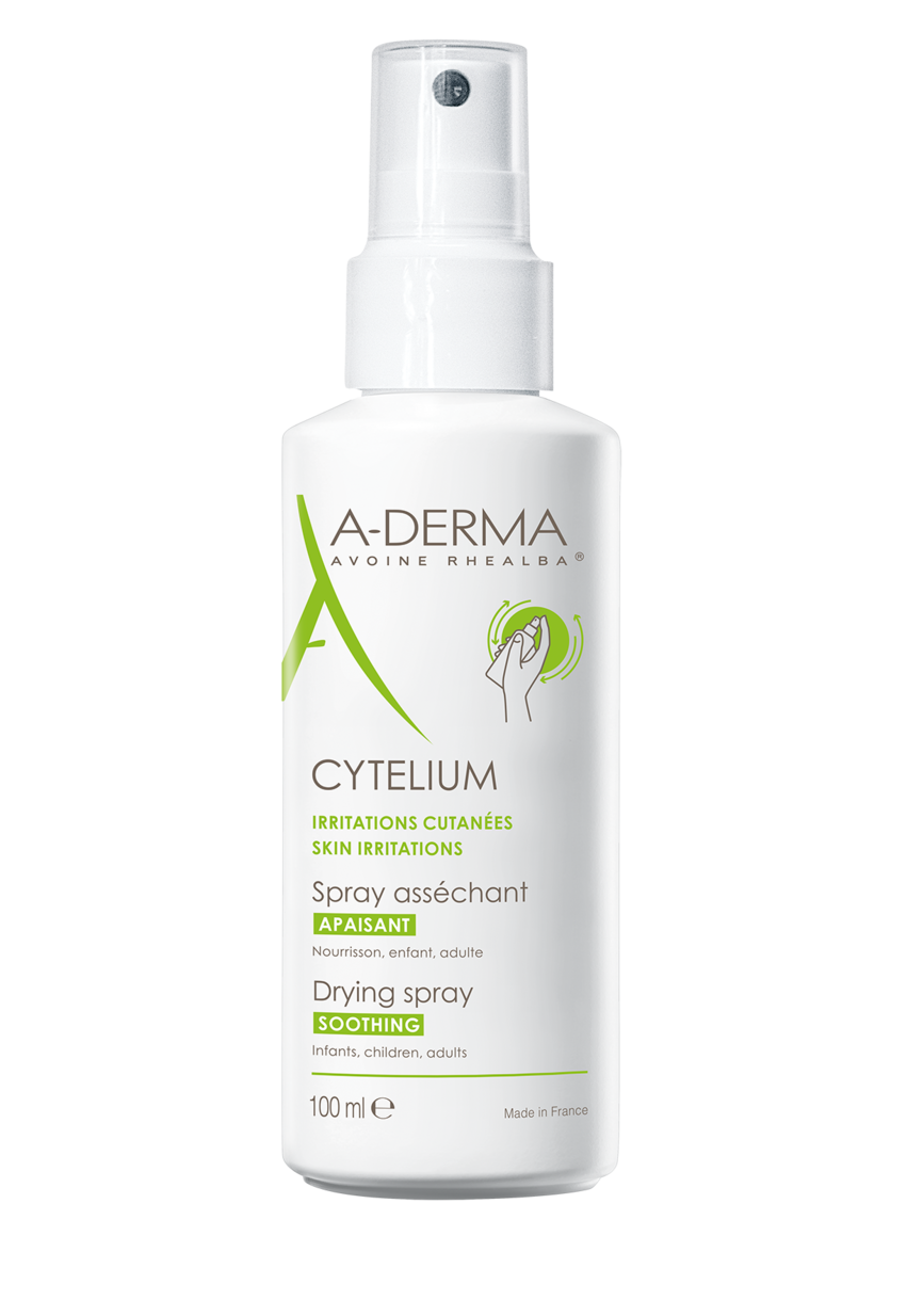 Aderma cytelium drying spray