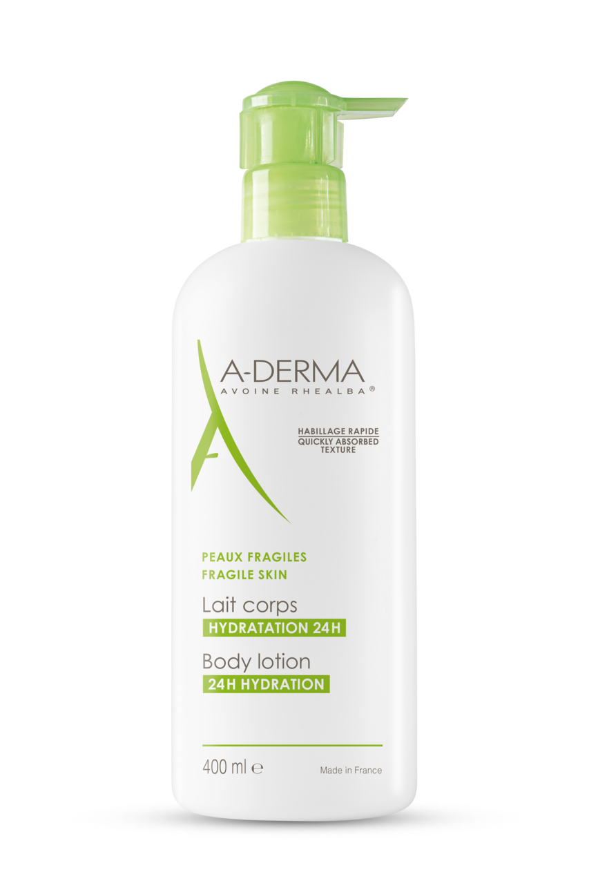 Aderma body lotion