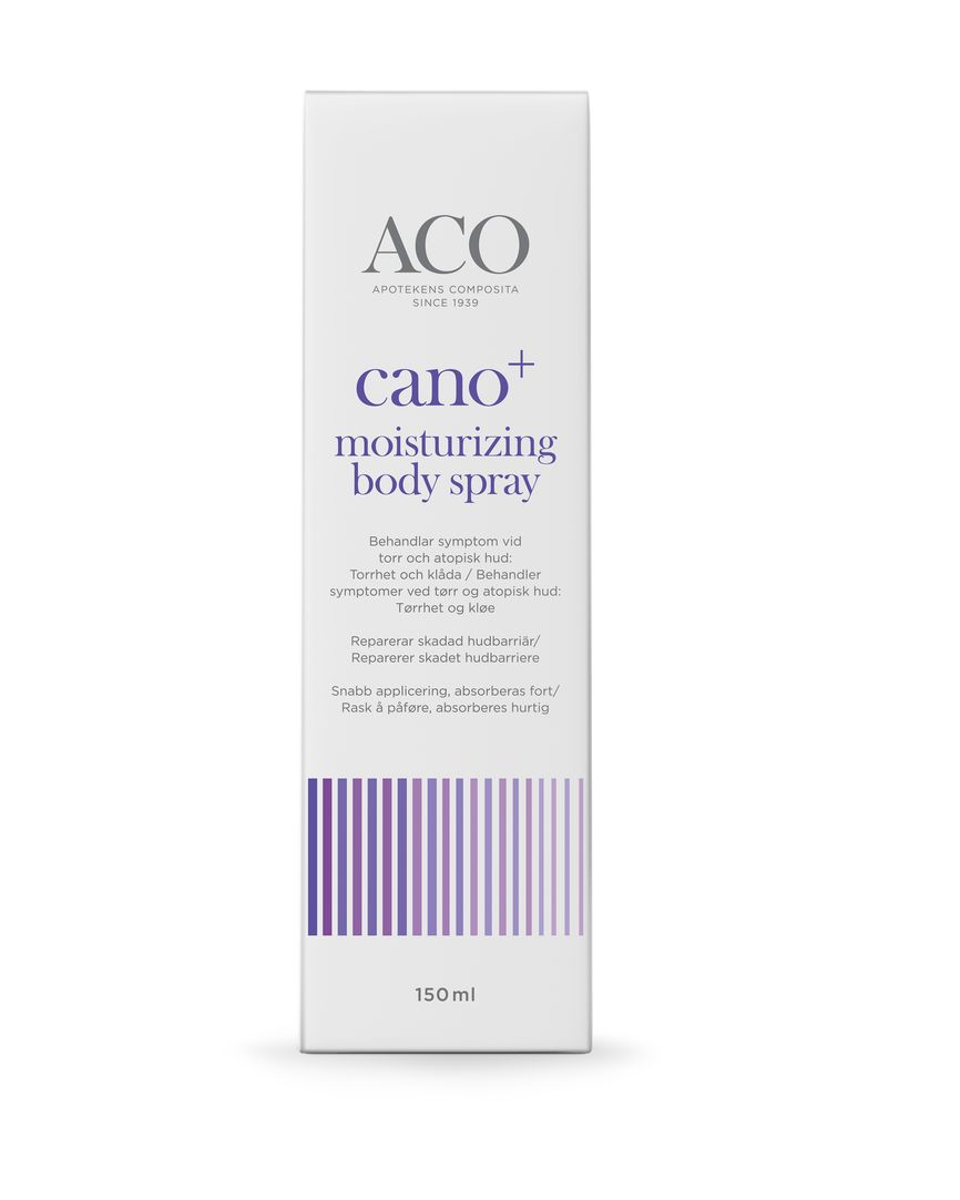 Aco cano+ moisturiz body spray