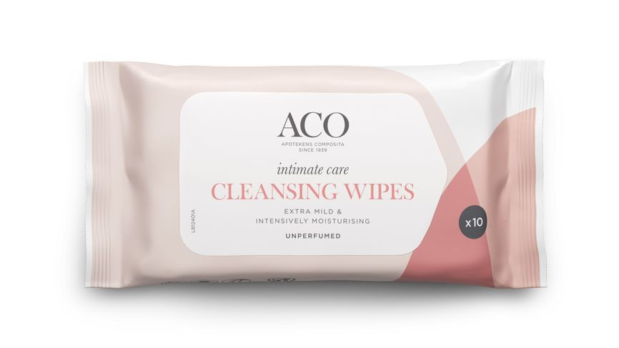 Aco Intimate Care Clean Wipes (10 stk)