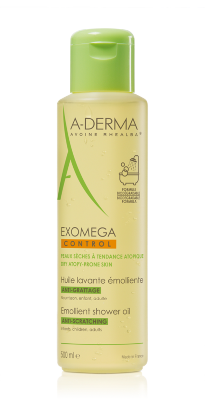 A-Derma exomega control shower oil (500 ml)