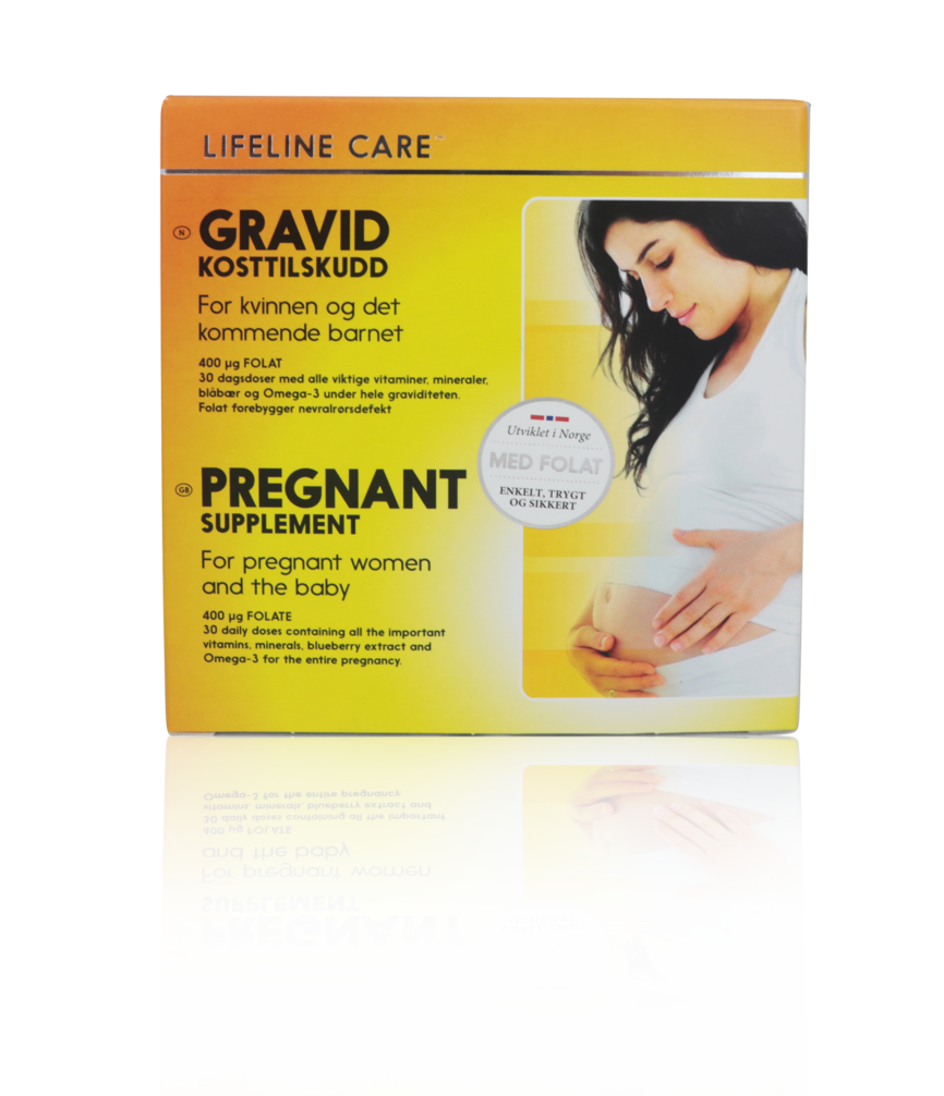 Lifeline Care gravid tabletter og kapsler (2+2 x 30 stk)